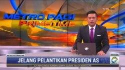 Laporan Langsung VOA untuk Metro TV : Jelang Pelantikan Presiden AS