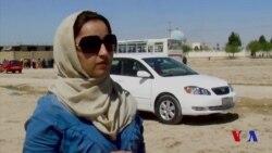 Mashina boshqarayotgan afg'on ayollari