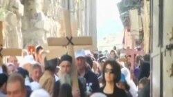 世界各地的基督徒星期五紀念耶穌受難日