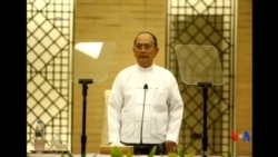2015-11-07 美國之音視頻新聞: 吳登盛承諾將尊重緬甸大選結果