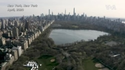 บินสำรวจความเหงาเหนือ 'นครนิวยอร์ก' หลังการระบาดใหญ่ของโควิด-19