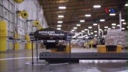Amazon đi đầu với hình thức giao hàng bằng máy bay không người lái
