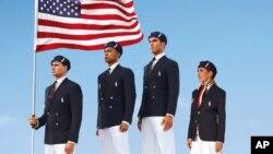Seragam resmi atlet Olimpiade AS telah memicu kontroversi karena dibuat di Tiongkok (foto: dok).