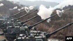 Seoul cho biết cuộc thao dượt lần này là hoạt động thường lệ, trong đó có cuộc thực tập súng phóng lựu tự động và súng cối