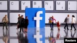 Logo 3D Facebook. (Foto: Reuters)