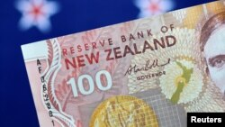 A New Zealand Dollar note is seen in this picture illustration June 2, 2017.