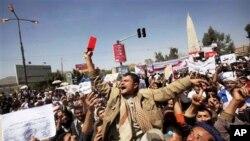 رئیس جمهور یمن کشتن احتجاج کنندگان را توجیه نمود