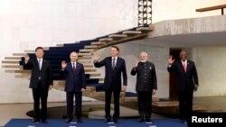 BRICS ထိပ္သီးေခါင္းေဆာင္မ်ား (ႏိုဝင္ဘာ ၁၄၊၂ဝ၂ဝ)