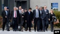 Phái đoàn của phe đối lập đến dự cuộc đàm phán Geneve 2