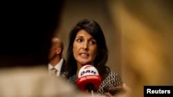 Bà Nikki Haley nói đã hết giải pháp kiềm chế tham vọng hạt nhân của Bắc Hàn.