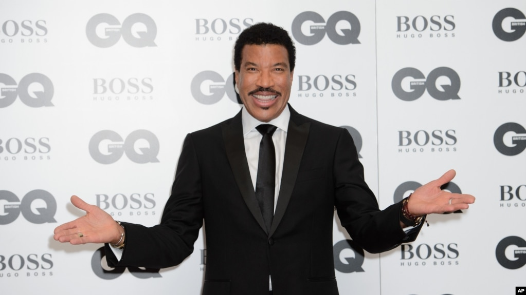 Lionel Richie en los premios GQ Men of the Year 2015. Londres, 8-9-15.