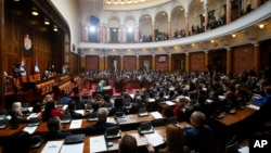 Arhiva - Sednica Skupštine Srbije