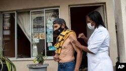 Vacinação no Rio de Janeiro, Brasil, 1 de Setembro de 2021