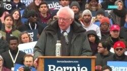 Берни Сандерс вновь собирает тысячи сторонников