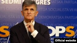 Predsjednik Političkog savjeta Demokratske partije socijalista Svetozar Marović (rtcg.me)