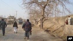 د چاردرې ولسوالۍ امنیتي چارې افغان قواو ته وسپارل شوې