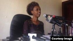 Diane Rwigara, umukandida mu matora y'umukuru w'Igihugu mu Rwanda