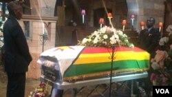 UNkosikazi Maria Msika uzangcwatshwa eNational Heroes Acre.