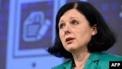 欧盟司法事务专员维拉·朱洛娃