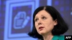 Ủy viên Tư pháp châu Âu Vera Jourova.