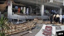 Місце терористичної атаки в Ісламабаді