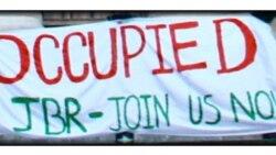 حمایت دانشجویان بریتانیا از دانشجویان معترض ایرانی