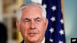 رکس تیلرسون، وزیر خارجه آمریکا