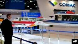 中國製造的ARJ21客機