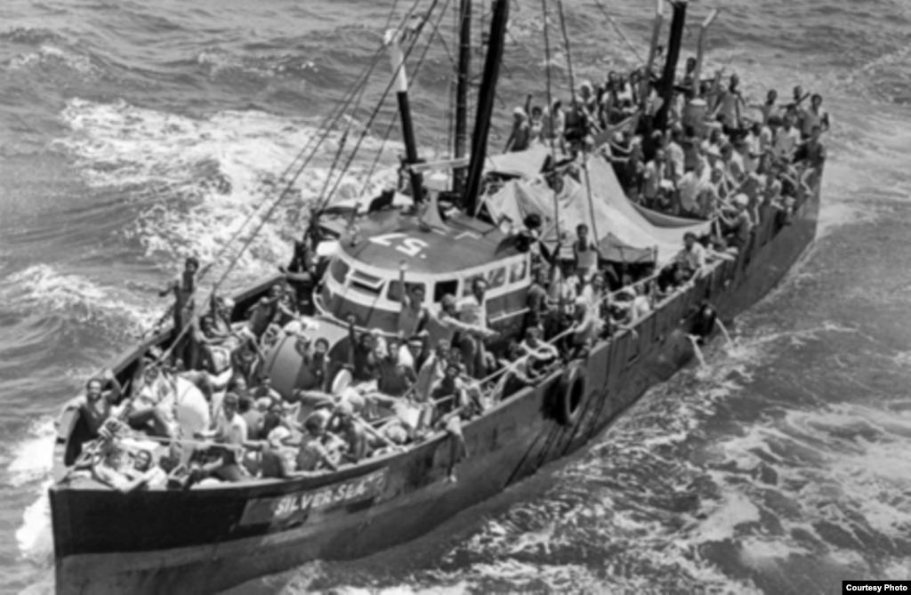 1961-й рік - Кубу покидають біженці