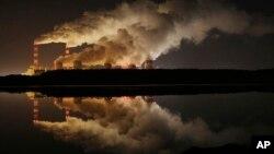 Belchatow, Polonya'daki Avrupa'nın en büyük linyitli güç tesisi