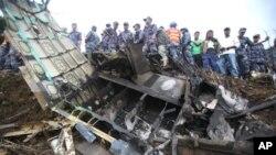 نیپال: طیارے کے حادثے میں 19 افراد ہلاک