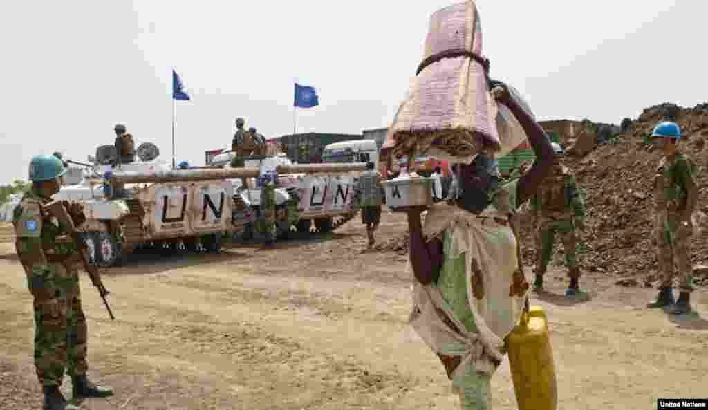 UNMISS has tripled the number of troops it has in Jonglei state, where David Yau Yau's rebels have relaunched an insurgency.
