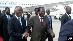 VaThabo Mbeki naVaRobert Mugabe