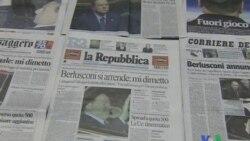 2011-11-09 粵語新聞: 意大利總理承諾在經改計劃通過後辭職