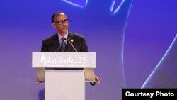 Le président Paul Kagame.