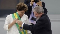برگزاری مراسم تحلیف رییس جمهوری جدید برزیل