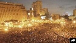 Des milliers de manifestants au centre du Caire, mardi
