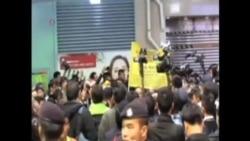 香港警方逮捕12名爭取民主抗議者