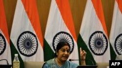 سوشما ساوارج وزیر خارجه هند