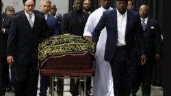 Sala ya kislamu ya mzishi ya Mohamed Ali yafanyika Louisvile