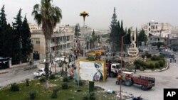Dua bom meledak di dekat perumahan militer di Idlib, Suriah (30/4).