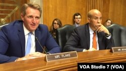 U.S. Senators Jeff Flake and Cory Booker - Hearing on Zimbabwe