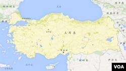 土耳其地圖