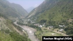 Neelum Valley is a 144 km long bow-shaped thick forested region in Azad Jammu and Kashmir in Pakistan