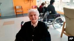 Virus Outbreak Italy Centenarian Survivor