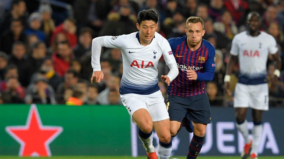 Sepak Bola Son Heung Min Bintang Baru Tottenham Hotspur