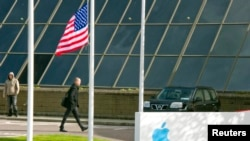 Apple Operations International, anak perusahaan Apple Inc, di Hollyhill, Cork, Irlandia selatan. (Reuters/Michael MacSweeney)