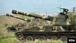 پس از درگیری اخیر نیروهای قره باغ علیا با جمهوری آذربایجان، یک آتش بس در پنجم آوریل اعلام شد.