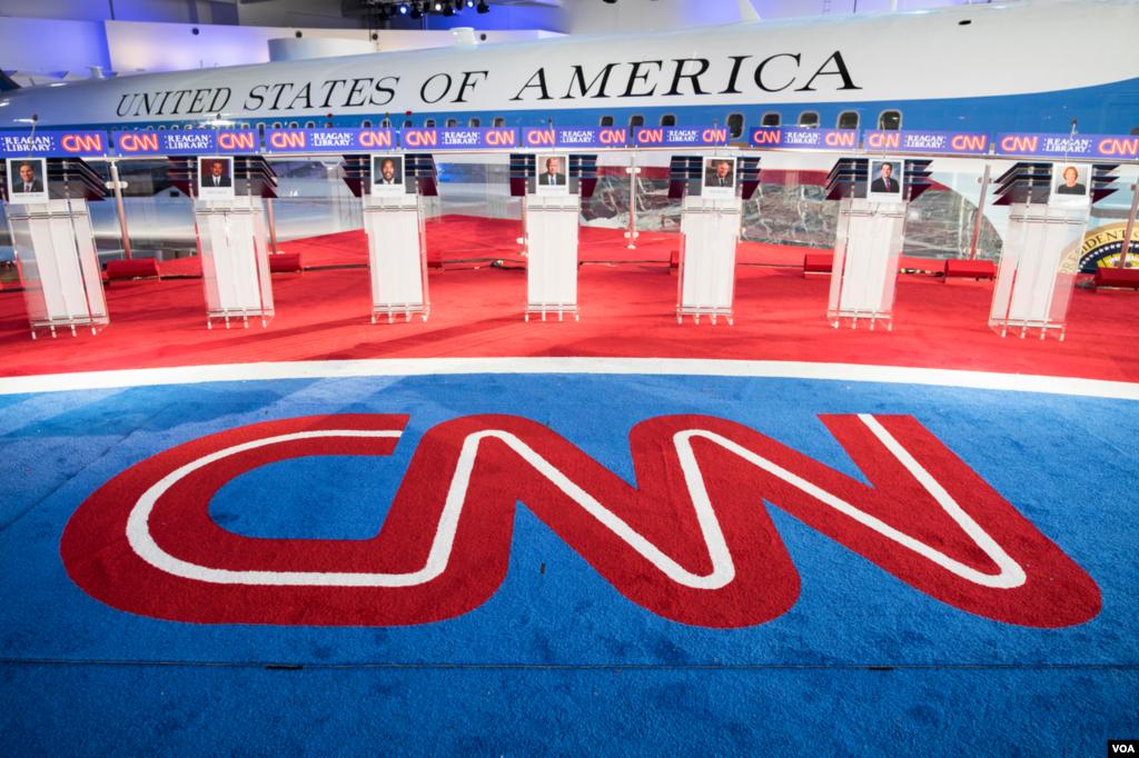 C.N.N مجری و برگزار کننده دومین مناظره نامزدهای جمهوریخواه انتخابات ریاست جمهوری آمریکا بود