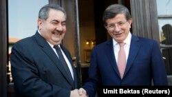 Hoşyar Zebari ve Ahmet Davutoğlu Ankara'daki görüşmelerinde